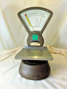 Vintage Pitney Bowes S 120 Industrial Postal Scale Retro Steampunk Usa