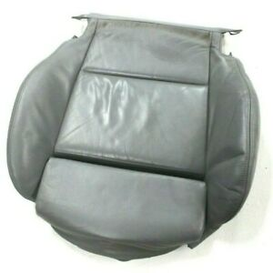 Bmw Oem E46 Front Sport Seat Bottom Cushion Grey Leather Left Right Pad 330 325