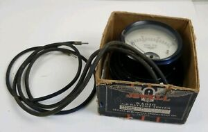Early Jewell Electrical Radio A b Battery Tester Meter Volt Voltage Voltmeter Dc