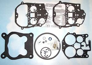 Rochester Quadrajet Carburetor Rebuild Kit 79 86 Chevy Gmc Olds Pontiac 305 350