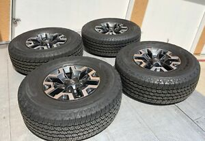 Oem Toyota Tacoma 3rd Gen Tires And Wheels plus New Spare