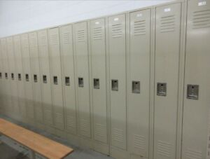New Hallowell Employee Locker Single Tier 3 Door