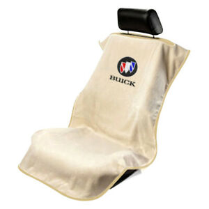 Seat Armour Front Car Seat Cover For Buick Tan Terry Cloth