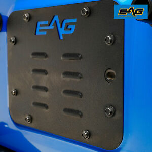 Eag Tailgate Vent Plate Cover Spare Tire Mount Delete For 07 18 Jeep Jk