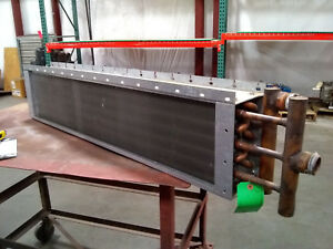 Brand New Water Coil 10 5 H X 46 L X 5 5 W 2 rows