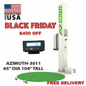 New Scale 65 Dia 104 Tall Pallet Stretch Wrapper shrink Wrapping Machine