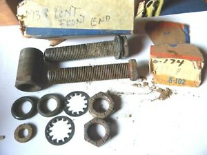 Nos 1936 1937 1938 Oldsmobile Lower Control Arm Outer Pivot Pin Package 1394944