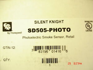 Silent Knight Sd505 photo new
