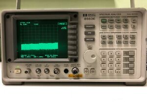 Hp Agilent 8563e Spectrum Analyzer 9khz 26 5 Ghz 85620a Mass Memory Module