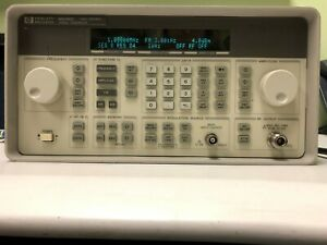 Hp Agilent 8648c Rf Signal Generator 9khz To 3200 Mhz Opt 1e5