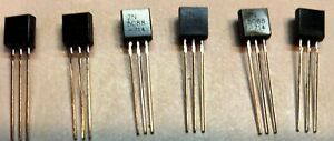 6 Pcs 2n5088 To 92 Npn Amplifer Transistor For Various Effects Pedals