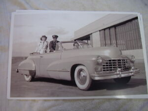 1946 Cadillac Convertible 11 X 17 Photo Picture