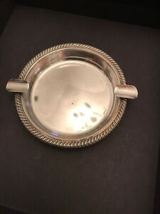 Sterling Silver Fisher Ashtray