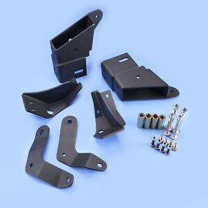 84 01 Cherokee Xj Front Control Arm Relocation Drop Bracket Kit Fr 4 5 8 Lift