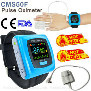 Wrist Pulse Oximeter Spo2 Pulse Rate Blood Oxygen Overnight Sleep Study Monitor