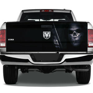 Sniper Gun Skull Army Marines Graphic Wrap Tailgate Graphic Decal Truck Pickup