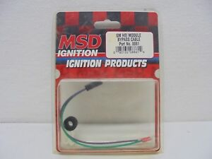New Msd 8861 Gm Hei Module Bypass Cable Original Made In Usa