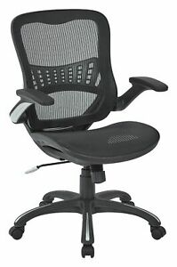 Heavy duty Base Mesh Back Seat 2 to 1 Synchro Lumbar Support Managers Chair