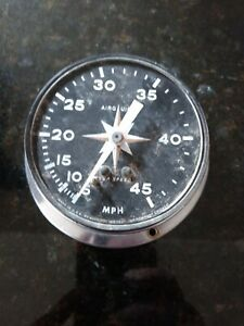 Air Guide Sea Speed Vintage Speed Boat Speedometer As Is 3gb