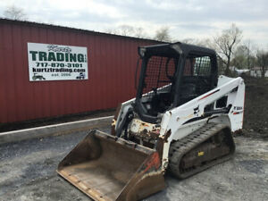 2015 Bobcat T450 Compact Track Skid Steer Loader W Joystick Only 800 Hours