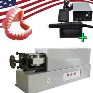 Dental Lab Automatic False Teeth Denture Injection System 35k Rpm Polisher Unit