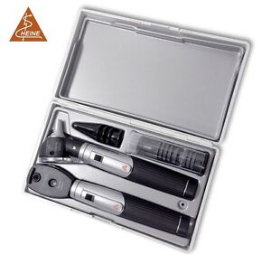 Heine Mini 3000 Combined Ophthalmoscope Otoscope Diagnostic Set