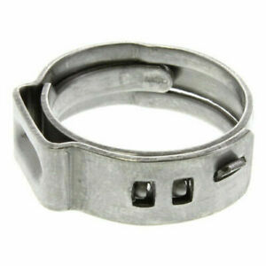 1 2 Inch Stainless Steel Pex Rings Clamp 10pcs Made In Usa High Quality