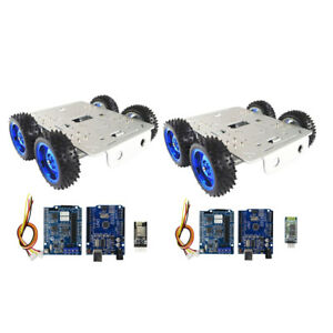 Tank Toys Car Chassis Kit Bluetooth wifi Driver Kit For Arduino 4wd C300