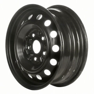 68682 Refinished Subaru Impreza 1993 1995 14 Inch Black Steel Wheel Rim
