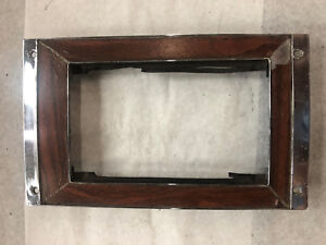 1969 Camaro Automatic Console Shift Plate Rosewood