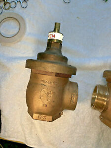 Elkhart Brass Fire Hose Valve 1057 63 sm 2 1 2 Female Side