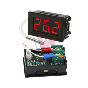 B310 Red Digital Thermometer 12v Temperature Meter K type Thermocouple Tester