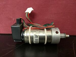 Escap 36lt2r Dc Servo Motor 12 422sp 49 Heds 5500 C11 Encoder 30 Day Guarantee