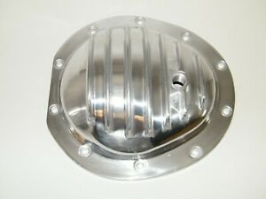 Chevy 10 Bolt 8 5 Rear Differential Cover Polished Aluminum 1970 81 8 5 10 Bolt