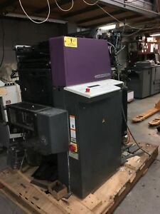 Heidelberg Quickmaster Qm 46 2 2 color Commercial Printing Press