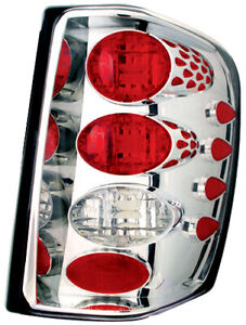 Ipcw Cwt ce5002c For Jeep Grand Cherokee 1999 2004 Chrome Euro Tail Lamps