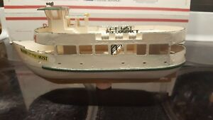 Vintage Maid Of The Mist Wooden Model Boat Hand Made Model Wow