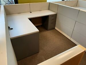 Used Office Cubicles 6 5 X 8 5 X 3 5 4 Cubicles Price Total 8 Available