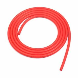 1 8 3mm Id Red Vacuum Silicone Turbo Air Hose Line Pipe Tube 5 Ft Foot Feet