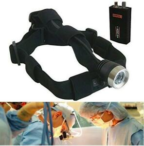 3w Led Headlight Dental Surgical Medical Head Lamp Headlight 40 000 Lx W charger