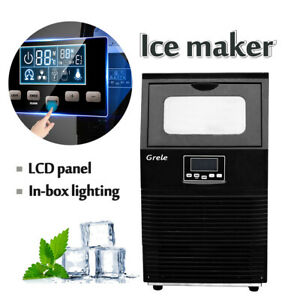 New 2019 Intelligent Automatic Led Commercial Ice Maker Rapid Ice Cube Machine
