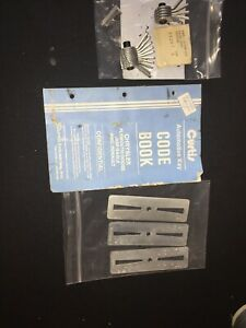 Curtis Model 15 Cam Set Assembly Code Cutter For Ford 1 And Ford 3 Carriage Book