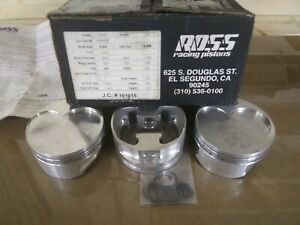 Ross Racing Pistons 429 460 Ford Stroker 4 400 Bore 1 242 Compression Height