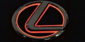 Lexus Red Led Emblem Logo 125mm Lexus Ls270 Rx450h Ct200 Ex250 Is250 Is350 Isf