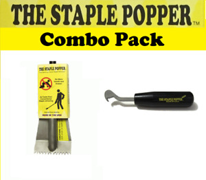 Carpet Staple Removing Tools Staple Popper And Mini Combo Pack