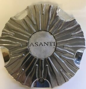 One Used Asanti Zebra Wheels Asanti 2 Custom Luxury Rim Center Cap 990