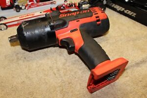 Snap On 18v 1 2 Drive Cordless Monster Lithium Impact Wrench Ct8850 Read