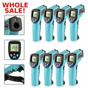 Lot 1 20pcs Non Contact Digital Laser Infrared Thermometer Temp Measurement Tn
