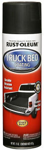 Black Rust Oleum Truck Bed Coating Spray Industrial Commercial Paint 6 Pack