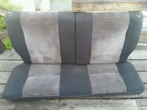 Honda Civic Hatchback Si Oem Rear Seats 88 89 ef
